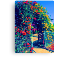 The Bower Entrance Canvas Print