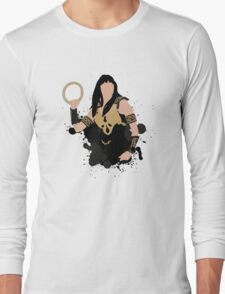 Xena Silhouette Long Sleeve T-Shirt