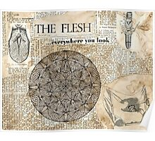 The Flesh... Poster