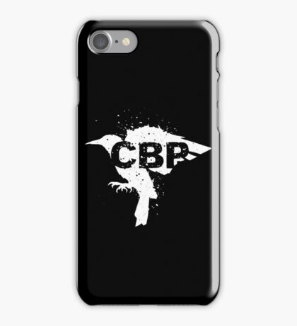 Cripple Black Phoenix Logo (White) iPhone Case/Skin
