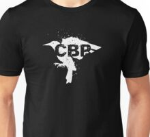Cripple Black Phoenix Logo (White) Unisex T-Shirt