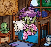 Wee Beasties - Wee Troll by whimsyworks