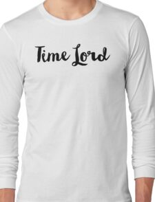 Doctor Who - Time Lord Long Sleeve T-Shirt