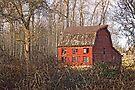 Red Barn of December by Appel