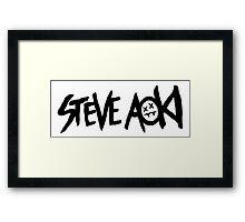 Steve Aoki Framed Print