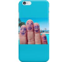The Calvo Family - Holidays iPhone Case/Skin