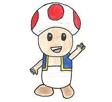 Toad Drawing by dairyking42