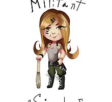 Militant sister by Paintingpixel