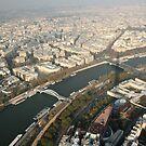 Eiffel Tower - Paris, France by Melissa Contreras