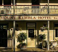 Mount Kembla Hotel by Geraldine Lefoe