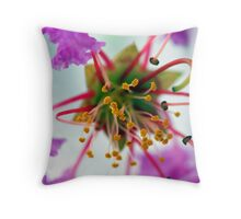 Explosion of colour Throw Pillow