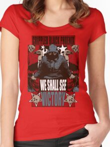 We Shall See Victory! Women's Fitted Scoop T-Shirt