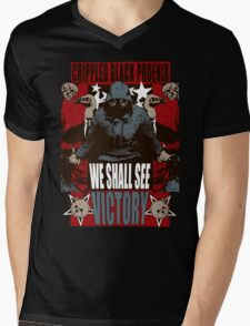 We Shall See Victory! Mens V-Neck T-Shirt