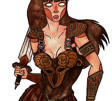 Xena the Warrior Princess by Jazmine Phillips