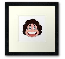 Steven Universe Head Icon Framed Print