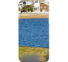 Park Bench Beach Houses iPhone Case/Skin