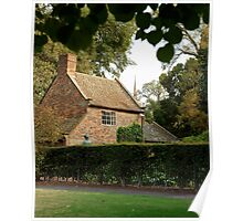 Captain Cook's Cottage #3 Poster