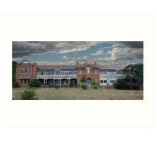 St Johns Orphanage Goulburn Nsw Art Print