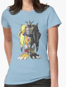 (Black)Wargreymon Womens T-Shirt