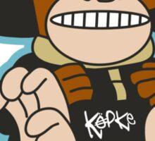 Köpke Chara Collection - Spacemonkey Sticker