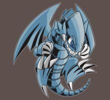 Blue-Eyes Toon Dragon by Natasha Jacques