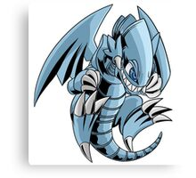 Blue-Eyes Toon Dragon Canvas Print