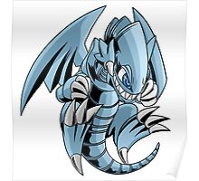 Blue-Eyes Toon Dragon Poster