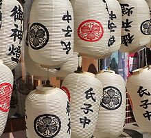 Japanese lanterns (1 of 3) by Nick Lowe