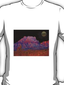 Night in Red Rock canyon T-Shirt