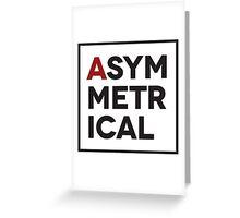 Asymmetrical Greeting Card