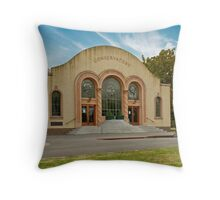 Conservatory Front Throw Pillow