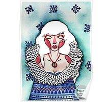 Snow Lady Poster