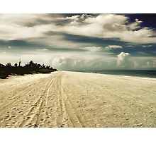 sanibel beach Photographic Print