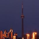 The view from my window / Toronto in fire  by monaiman