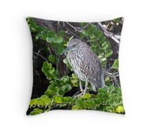 Future black-crowned   Throw Pillow