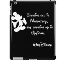 Growing Up is Optional iPad Case/Skin