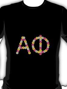 Floral Alpha Phi T-Shirt