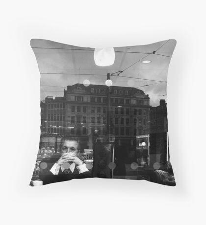 Street Surreal Throw Pillow