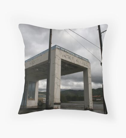 Victor Allred Throw Pillow