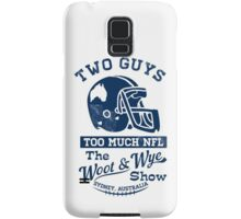 Two Guys Too Much NFL Samsung Galaxy Case/Skin