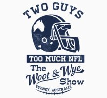 Two Guys Too Much NFL by wootandwye