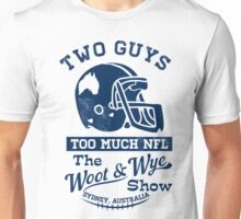 Two Guys Too Much NFL Unisex T-Shirt