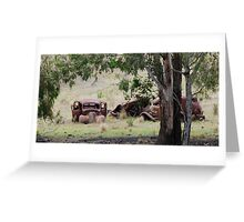 Home Among The Gumtrees Greeting Card