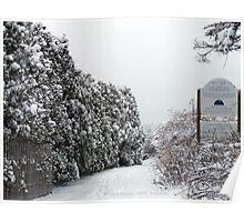 Watch Hill, East Beach Winter Poster