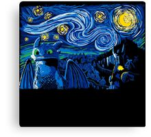 Starry Berk Canvas Print