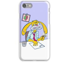 Boss Bunny! iPhone Case/Skin