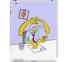 Boss Bunny! iPad Case/Skin