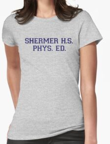 Shermer High School Physical Education Womens Fitted T-Shirt