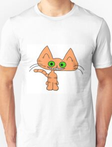 Tiger Kitten with a Big Smile T-Shirt