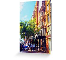Downtown San Diego by Underhill Greeting Card